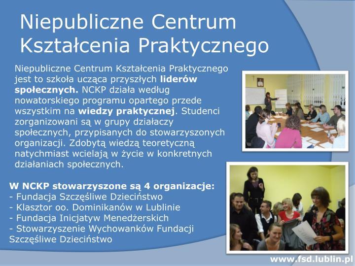 Niepubliczne Centrum Kształcenia Praktycznego