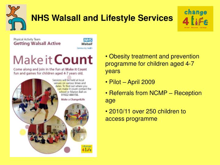 NHS Walsall and Lifestyle Services