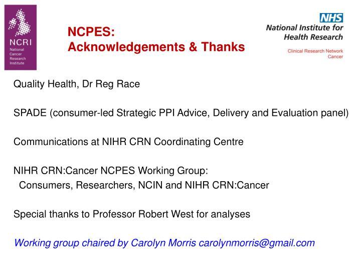 NCPES:
