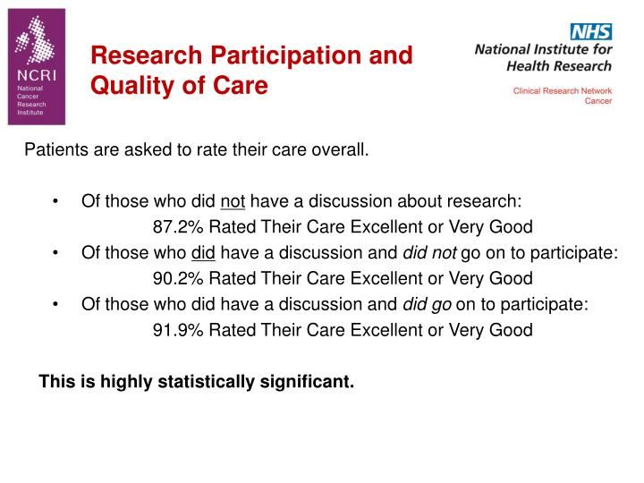 Research Participation and
