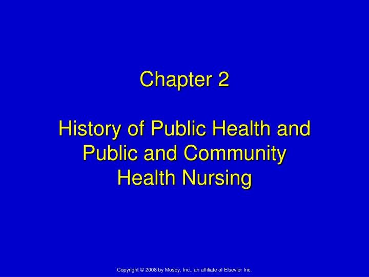 chapter 2 public health Chapter 2 why is public health controversial 16: chapter 3 powers and responsibilities  27: part iianalytical methods of public health  43: chapter 5 epidemiologic principles and methods  62:  introduction to public health mary-jane schneider limited preview - 2016.