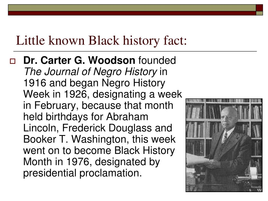 ppt little known black history fact powerpoint presentation id