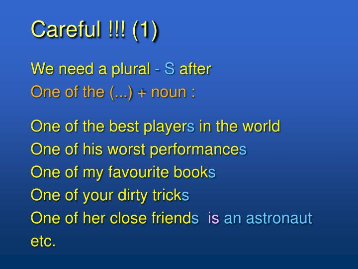 Careful !!! (1)
