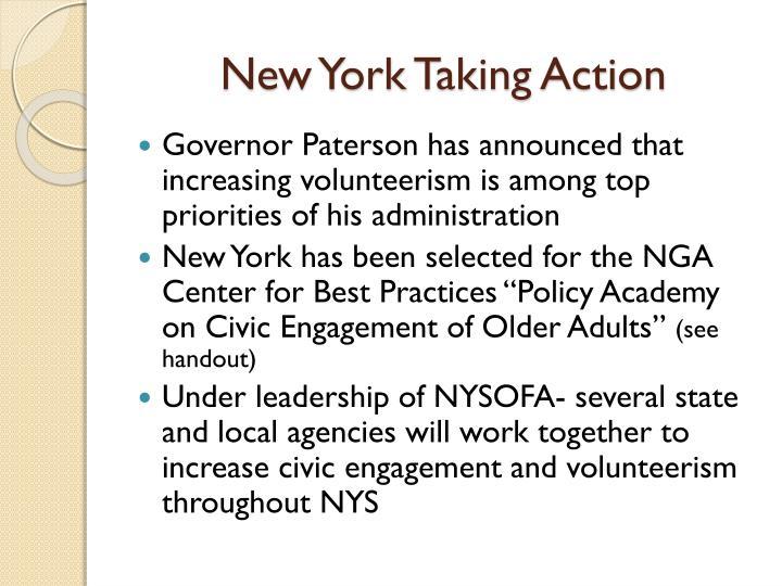 New York Taking Action