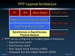 ppp layered architecture2