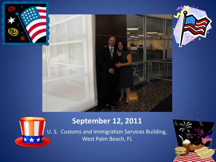 September 12, 2011