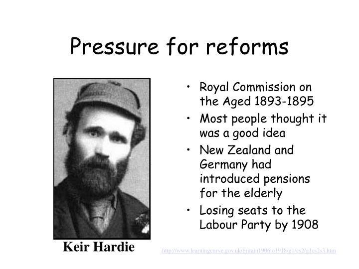 Pressure for reforms