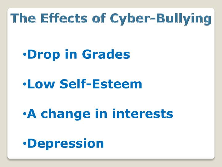 The Effects of Cyber-Bullying