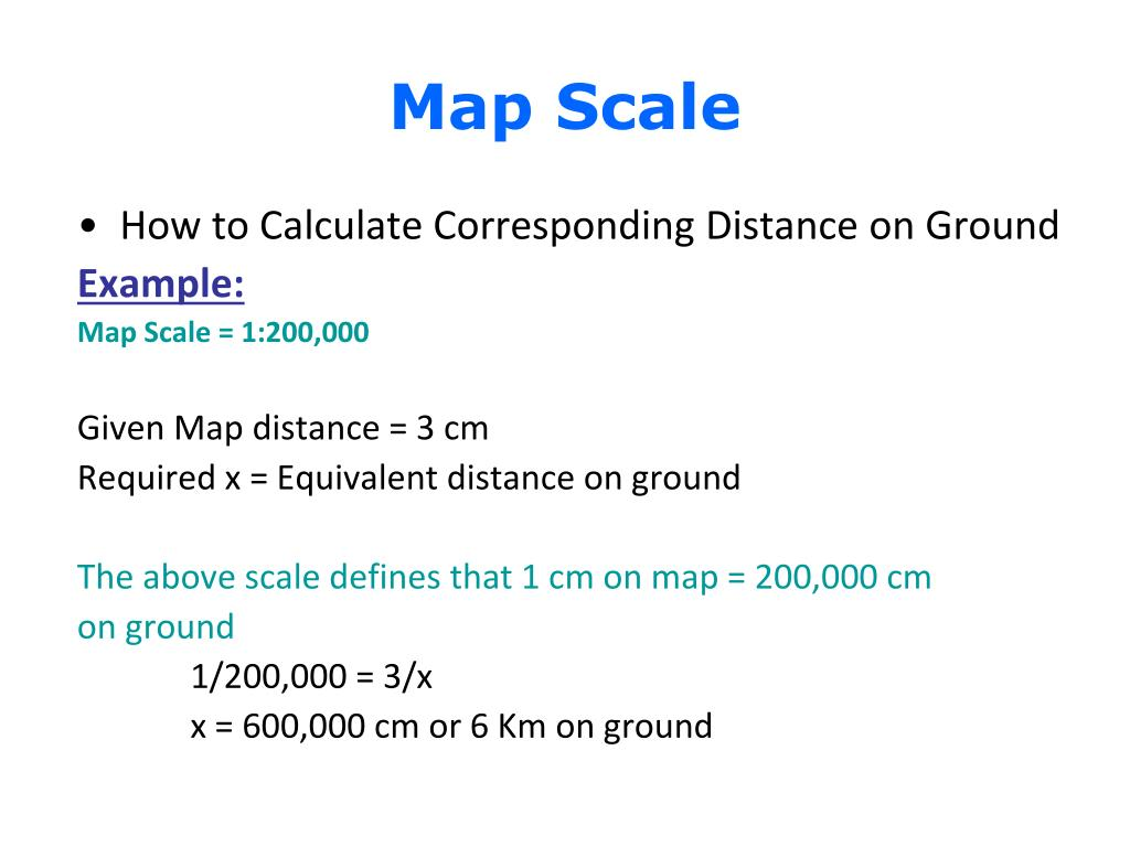 PPT - Map Scale PowerPoint Presentation - ID:4412623