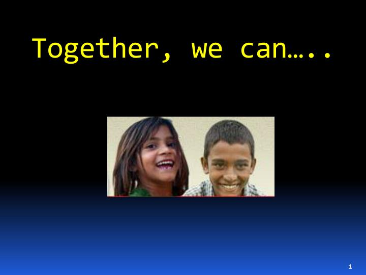 together we can n.