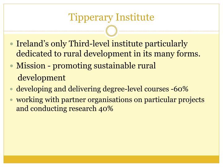 Tipperary institute