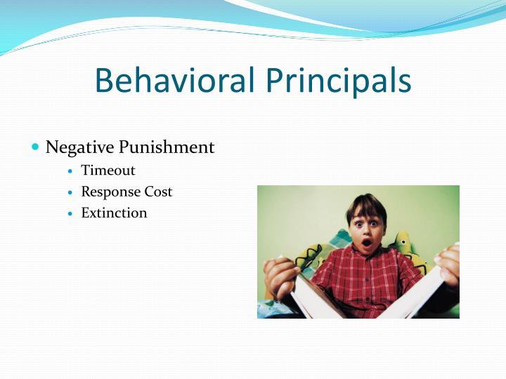 Behavioral Principals