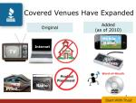 covered venues have expanded