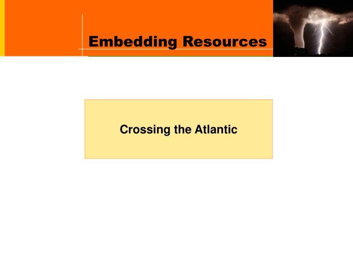 Embedding Resources