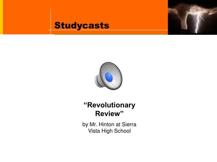 Studycasts