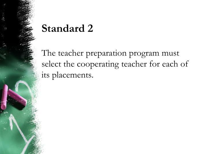 Standard 2