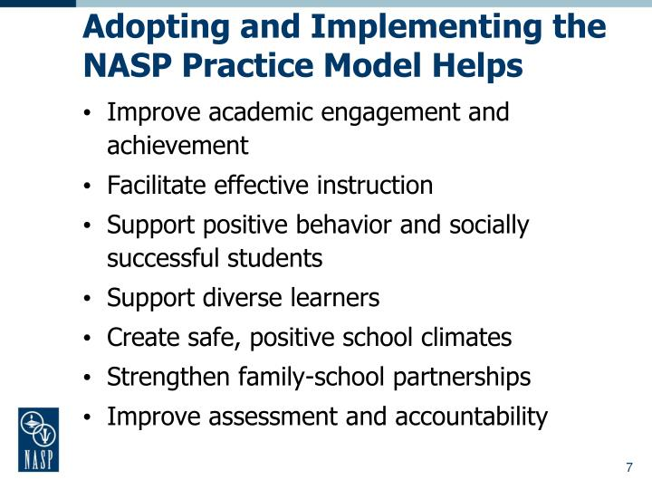 Ppt nasponline powerpoint presentation id4413749 adopting and implementing the nasp practice model helps malvernweather Gallery
