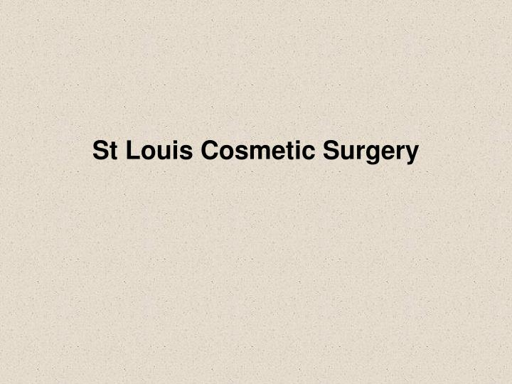 St Louis Cosmetic Surgery