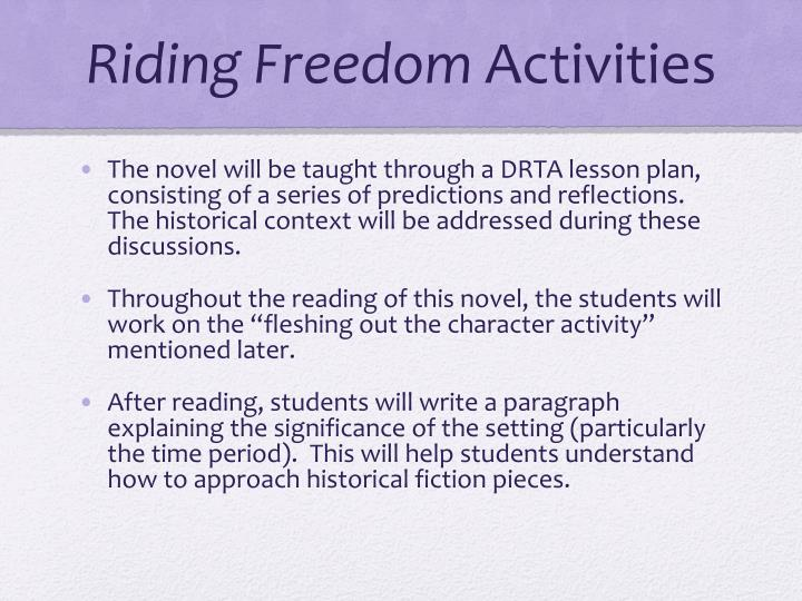 an analysis of the fictional novel charlotte darkey parkhurst Riding freedom is a historical fiction book by pam muñoz ryan that is based on the actual person, charlotte charley darkey parkhurst the person is real, but most of the story is just from the author's imagination.