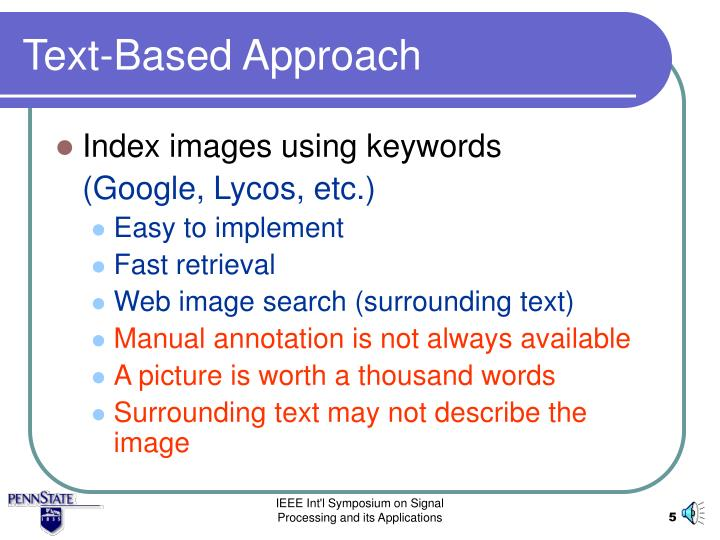 Text-Based Approach