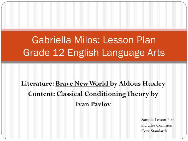 language arts lesson plan Lesson plans, unit plans, and classroom resources for your teaching needs browse or search thousands of free teacher resources for all grade levels and subjects.