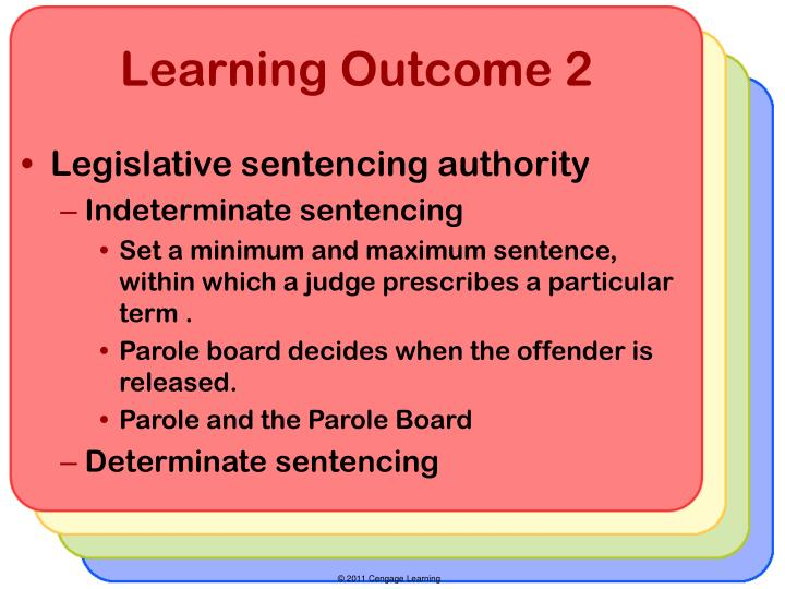 the issue surrounding determinate sentencing versus indeterminate sentencing and overcrowding in the Sentencing statutes and guidelines indeterminate sentencing is a system of and contribute to prison overcrowding determinate‐sentencing laws restrict.