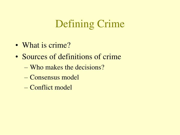 conflict and consensus model in criminal justice The consensus model argues that the organizations of a criminal justice system either do, or should work cooperatively to produce justice i truly believe and would love to see a consensus model of criminal justice.
