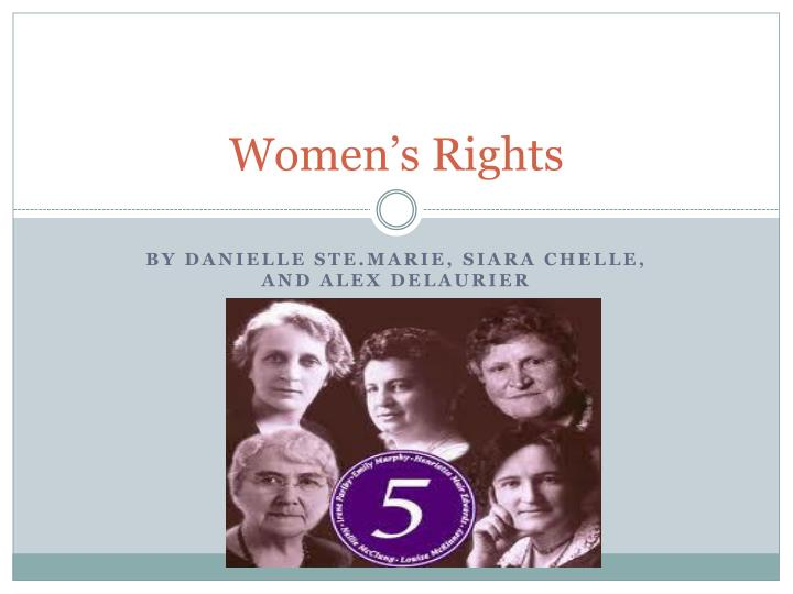 a biography of henrietta muir edwards one of albertas famous five women Henrietta quotes the famous 5 was a group made up of five canadian women who were henrietta muir edwards, emily murphy, nelly mcclung, irene parlby, and.