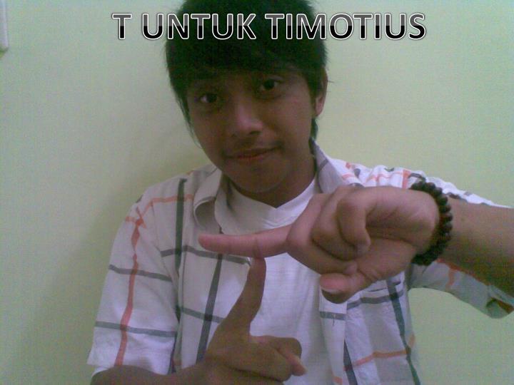 T UNTUK TIMOTIUS