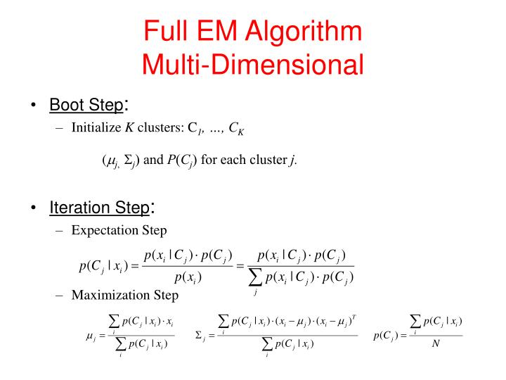 Full EM Algorithm