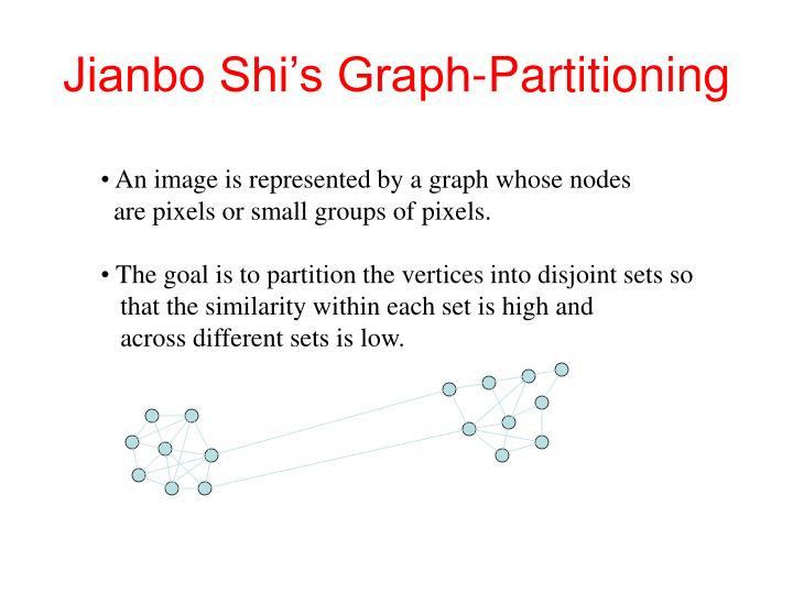 Jianbo Shi's Graph-Partitioning