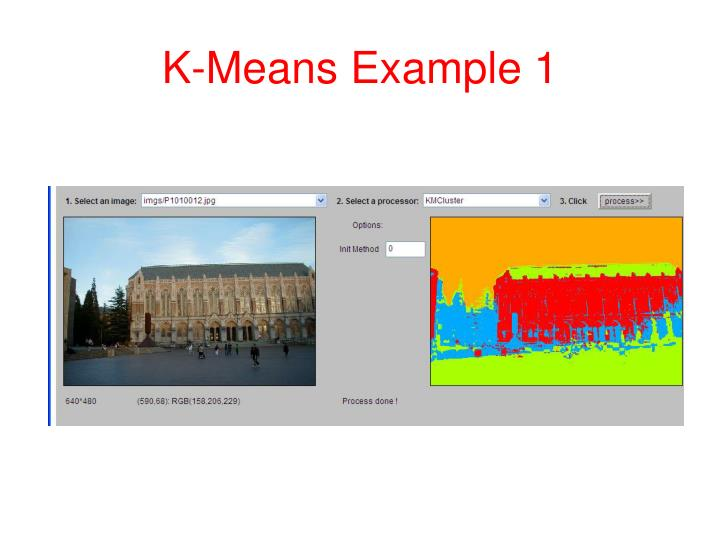 K-Means Example 1