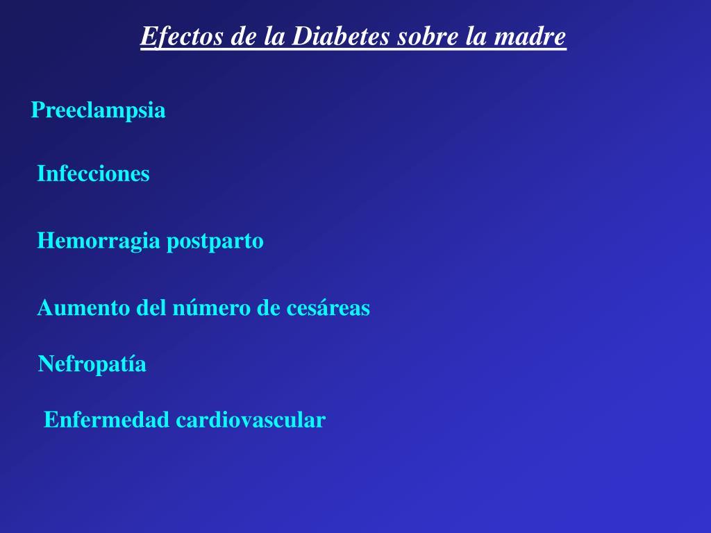 efecto de la diabetes sobre la enfermedad cardiovascular
