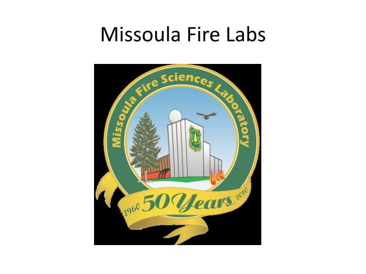 Missoula Fire Labs