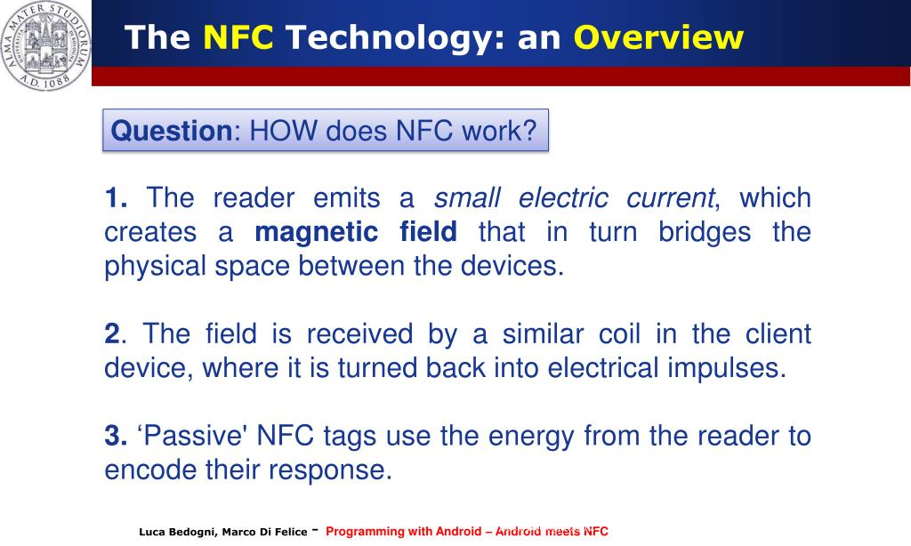 PPT - Towards an Internet of Things: Android meets NFC