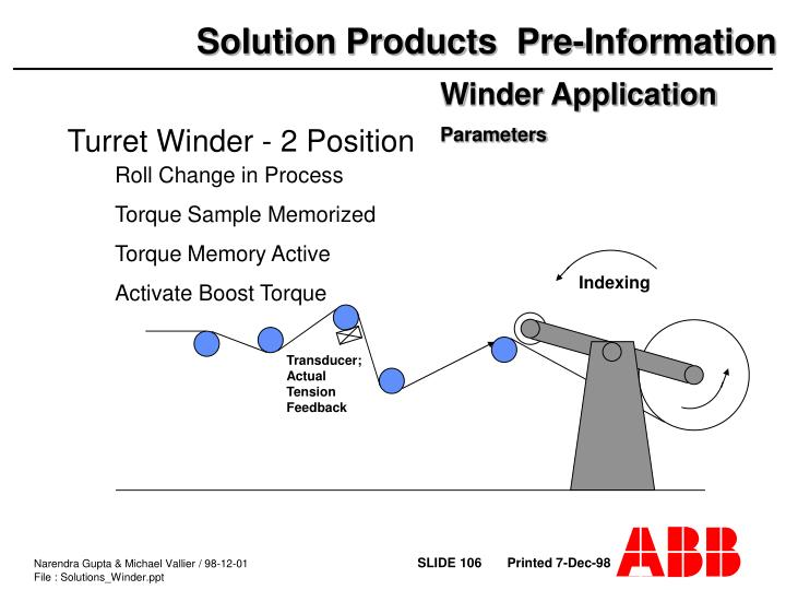 Winder Application