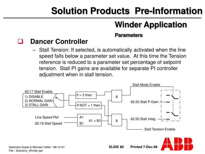 Dancer Controller