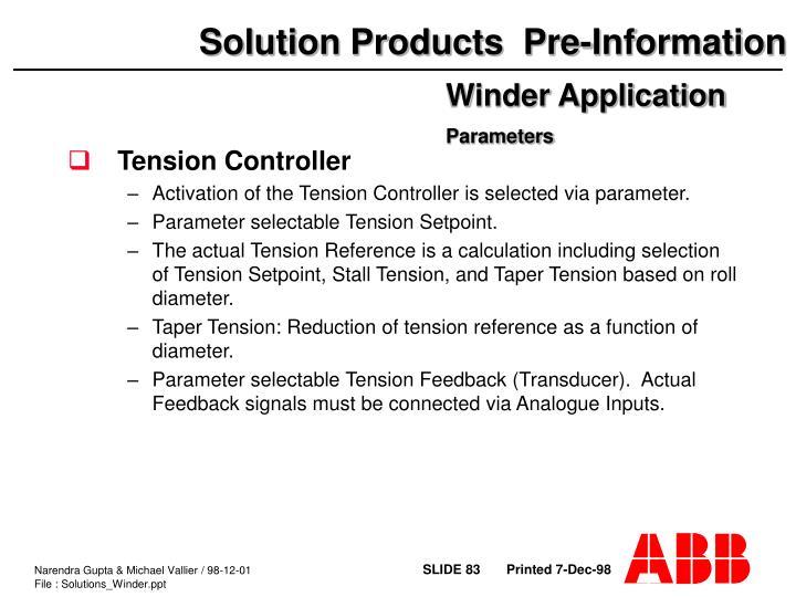Tension Controller