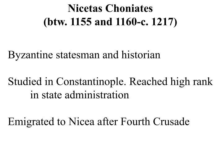 Nicetas Choniates