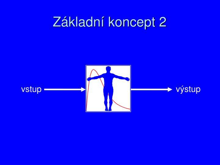 Základní koncept 2