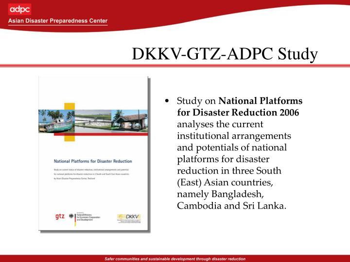 DKKV-GTZ-ADPC Study