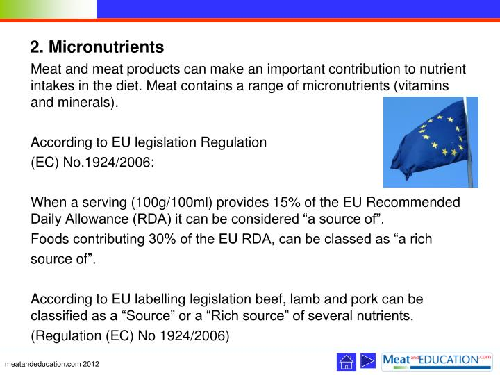 2. Micronutrients