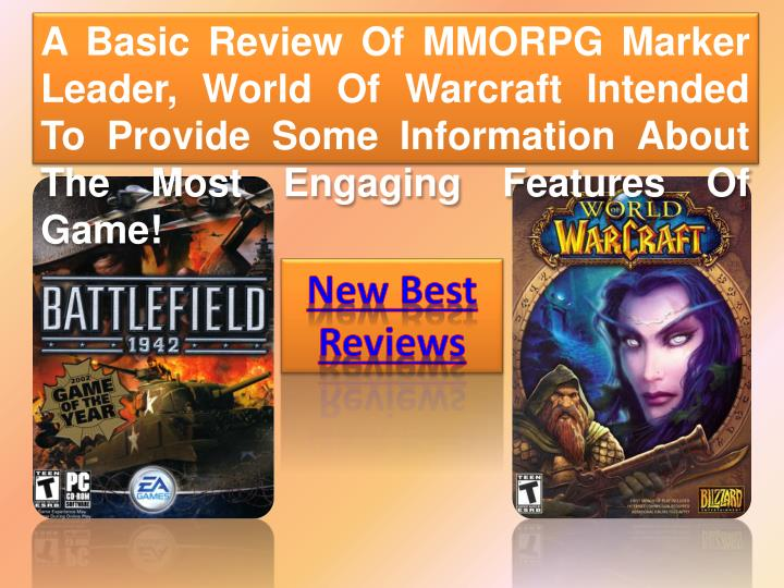 A Basic Review Of MMORPG Marker Leader, World Of