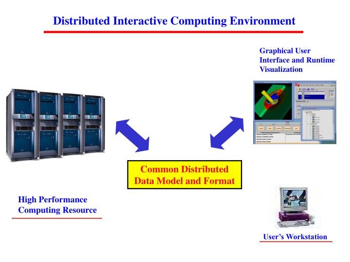 Distributed Interactive Computing Environment