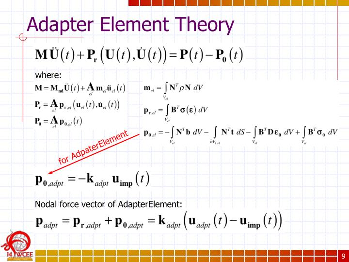 Adapter Element Theory