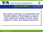 iftn the vision
