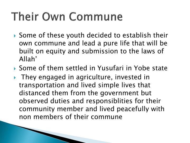 Their Own Commune