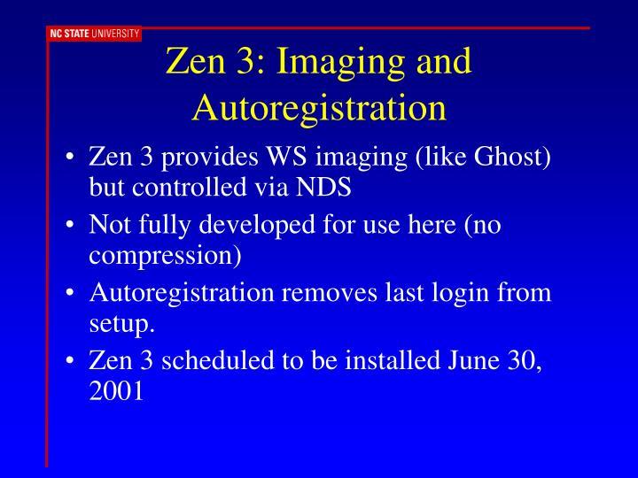 Zen 3: Imaging and Autoregistration