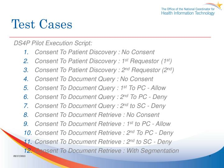 Test Cases