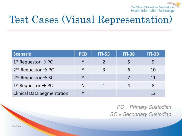 Test Cases (Visual Representation)